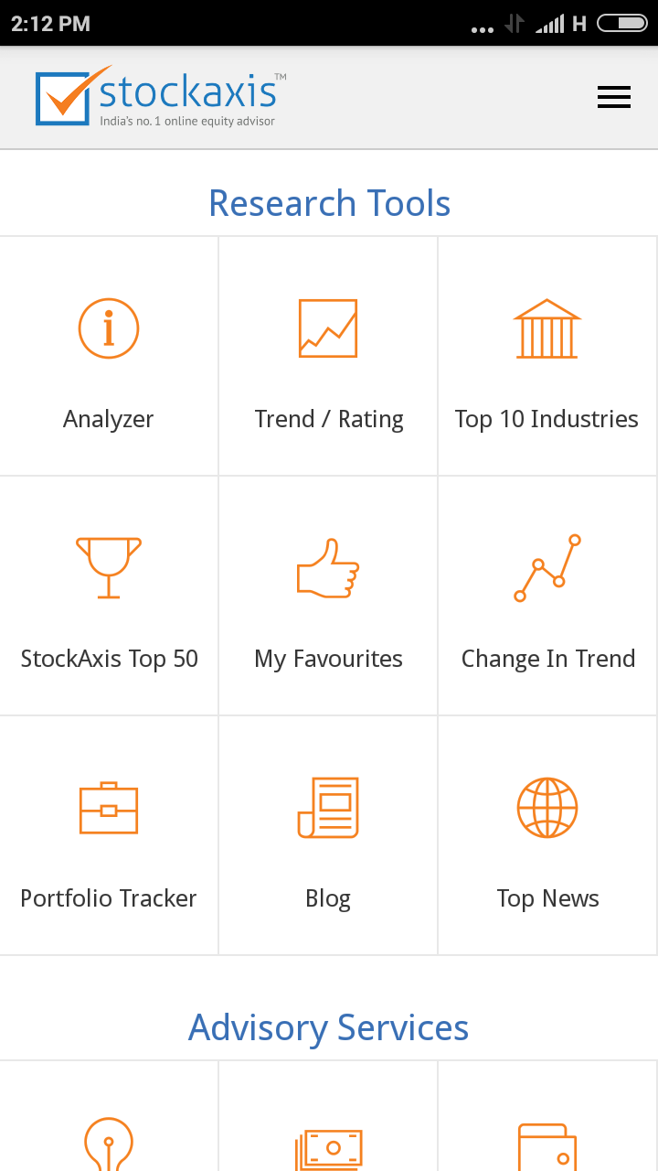 Stock Axis app download