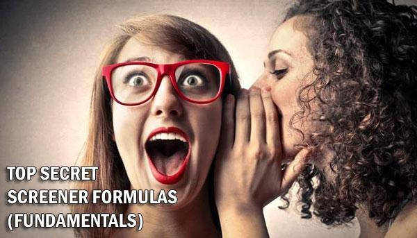 secret fundamentals screener formulas